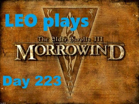 LEO Reads Treasury Orders, Odral's Land Deed And Caldera Mining Contract Morrowind  Day 223