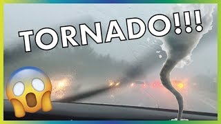 We Had To Drive Through A TORNADO!