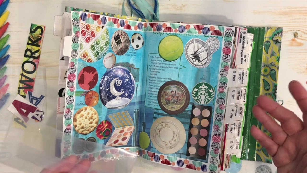 How I make a Junk Journal 2