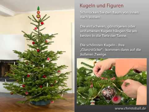 weihnachtsbaum schm cken leichtgemacht youtube. Black Bedroom Furniture Sets. Home Design Ideas