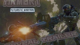 Armory: Futuristic Warfare Reveal Trailer (Version A)<