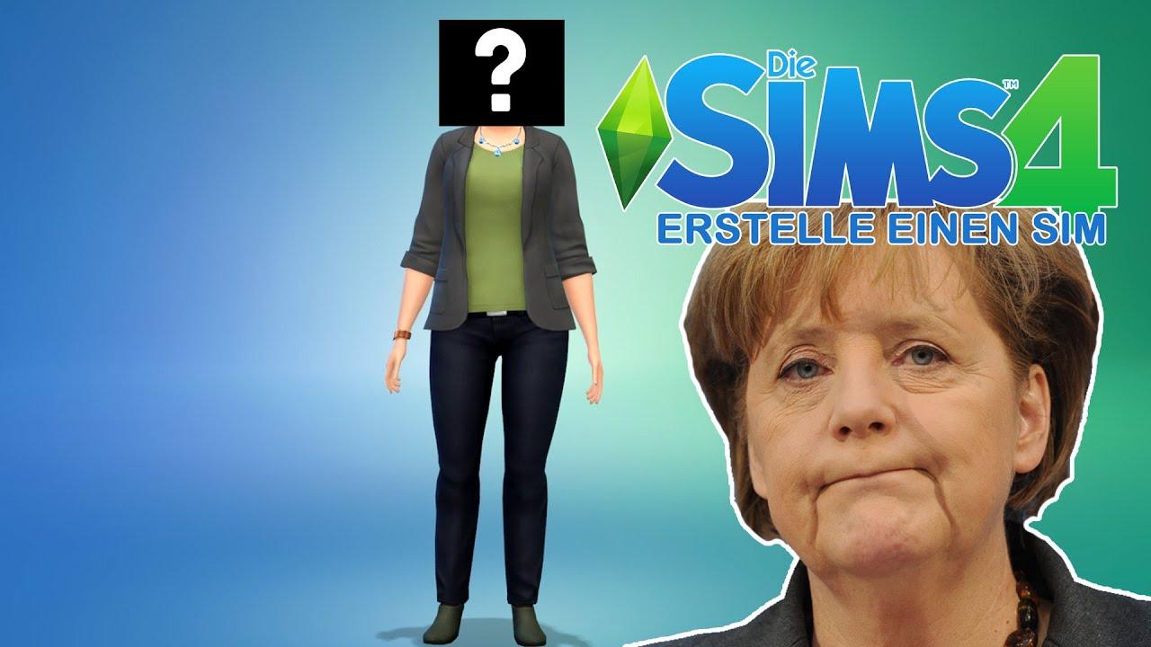 Die Sims 4 Erstelle Einen Sim Demo Frau Merkel Internet Neuland