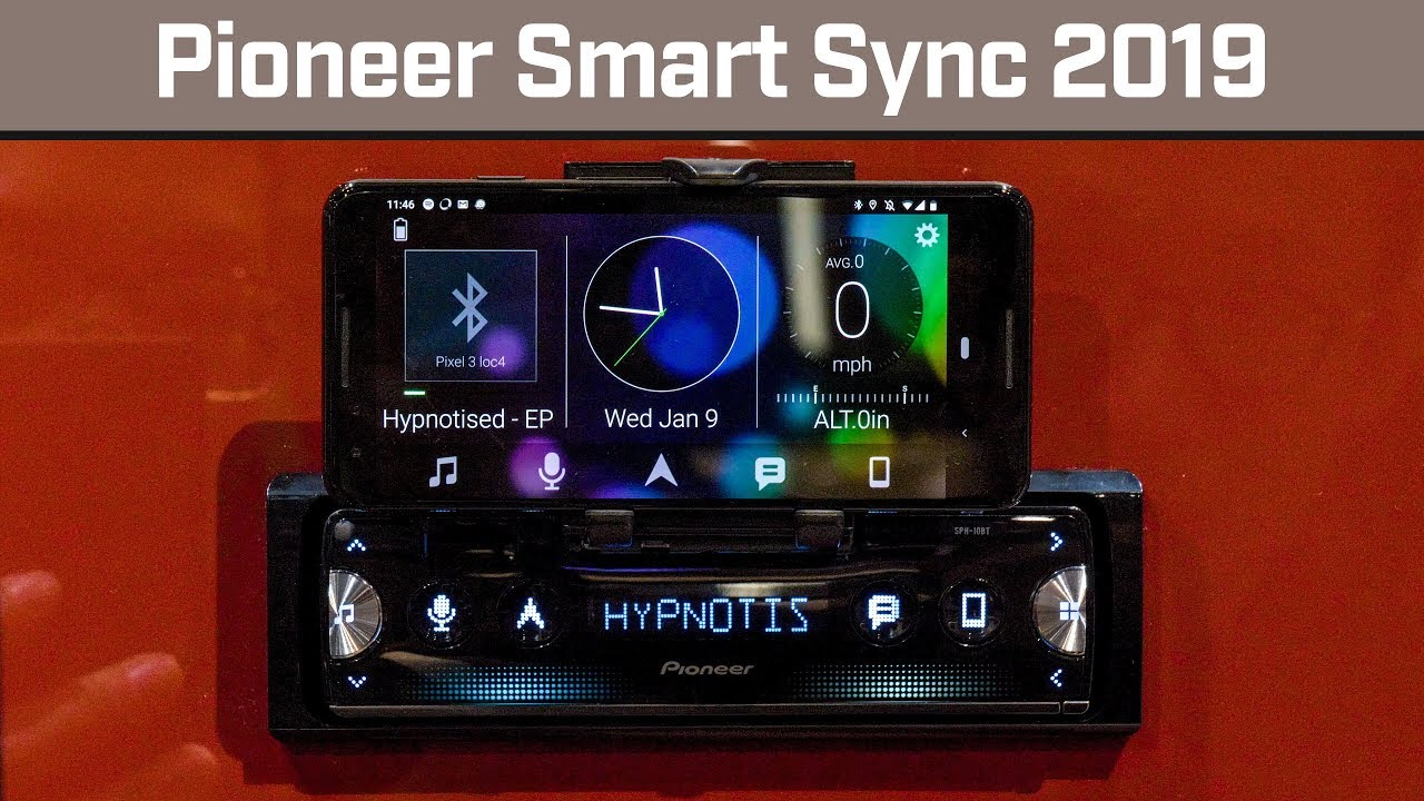 pioneer smart sync with sph 10bt youtube. Black Bedroom Furniture Sets. Home Design Ideas