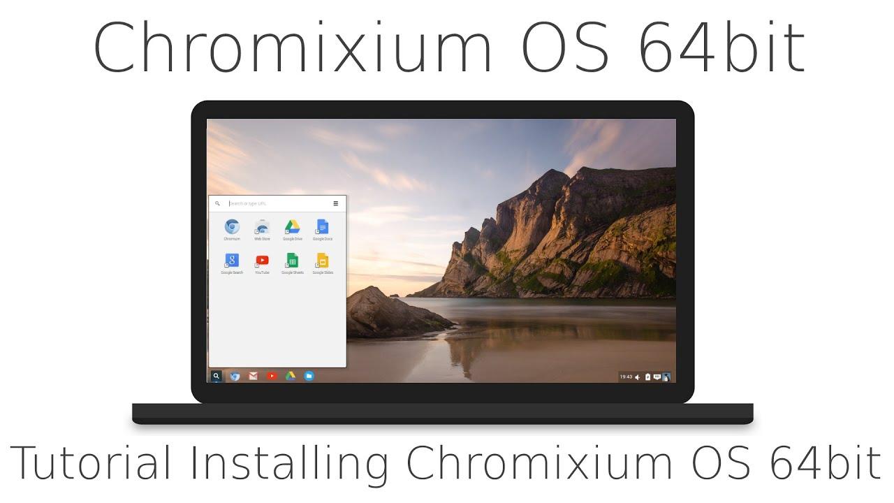 Tutorial Installing Chromixium OS 64bit and a quick tour, Chrome OS clone,  based on Ubuntu