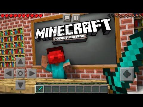 Monster School : Epic Minecraft Pocket Edition CHALLENGE - MCPE Minecraft Animation