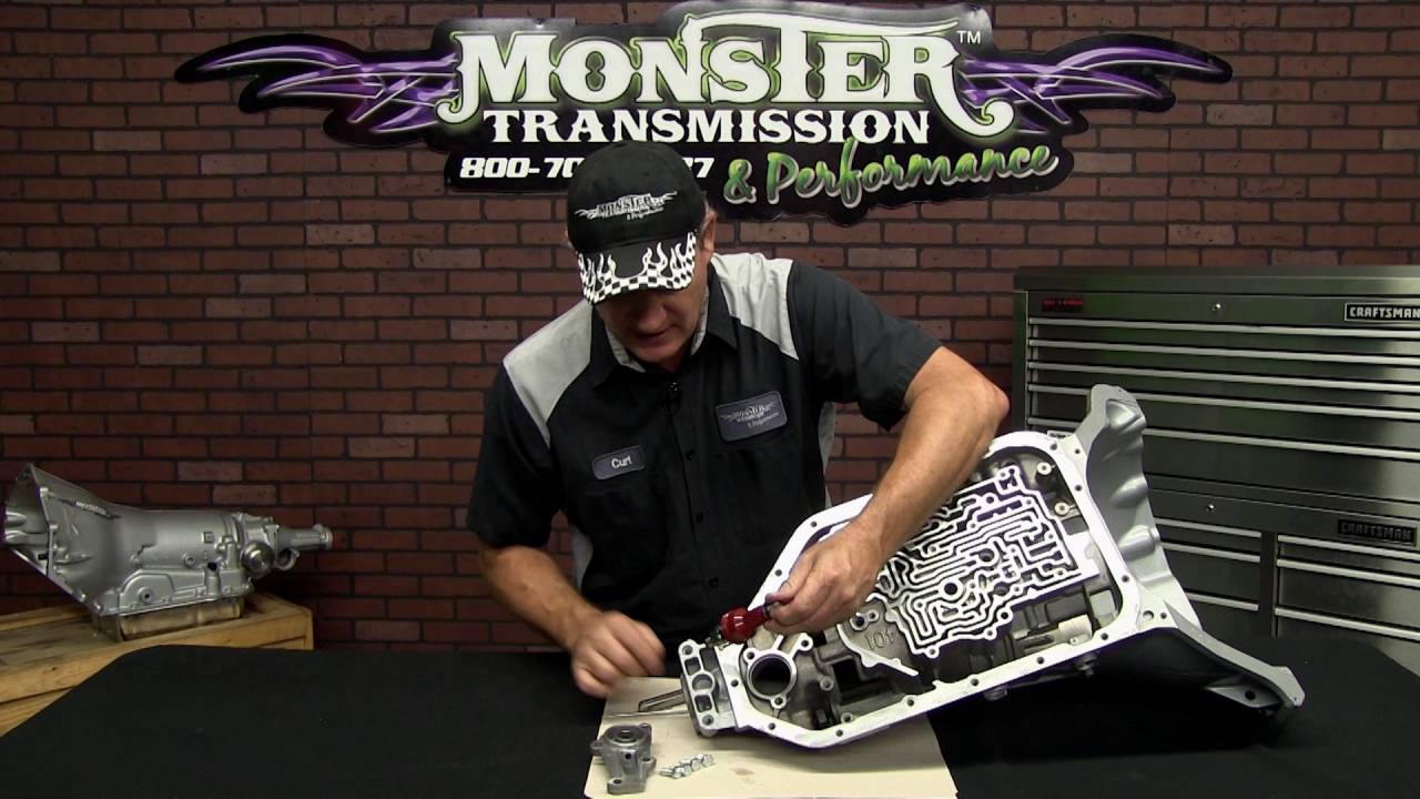 hight resolution of governor for 2004r monster transmission