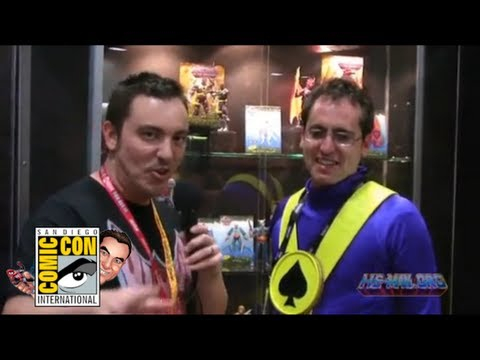 "SDCC 2012: Masters of the Universe Classics Walkthrough with Scott ""ToyGuru"" Neitlich"