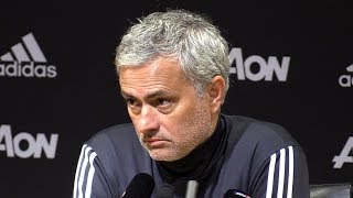 Manchester United 3-0 Stoke - Jose Mourinho Post Match Press Conference - Premier League #MUNSTK