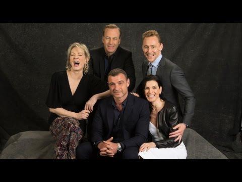 Emmy Roundtable   Tom Hiddleston, Julianna Margulies, Bob Odenkirk,  Liev Schreiber and Jean Smart