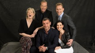 Emmy Roundtable  - Tom Hiddleston, Julianna Margulies, Bob Odenkirk,  Liev Schreiber and Jean Smart