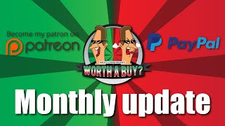 Monthly Update - Thanks for the support during this difficult time.