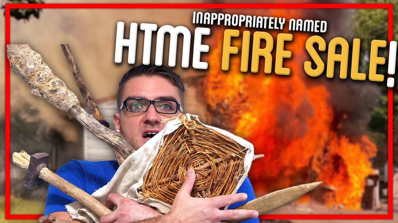 Auctioning Off $20K Worth of HTME Items?!