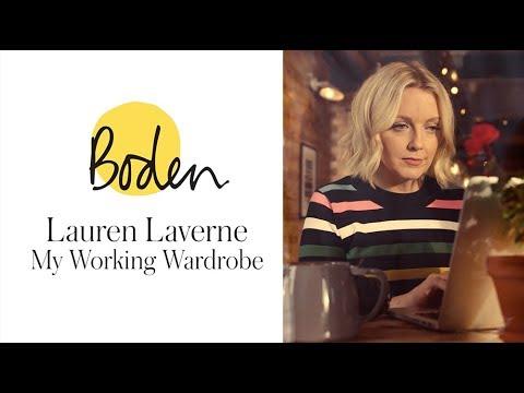 My working week: Lauren Laverne wears Boden's colourful workwear