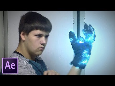 Electric Power Glove FX Tutorial - After Effects