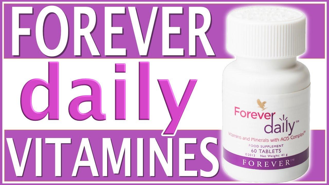 Plus jamais fatigué grâce à Forever Daily !