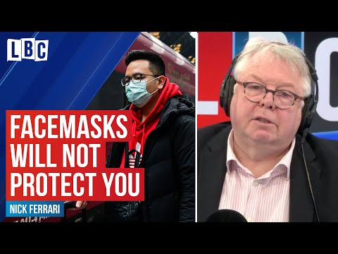 Expert explains why face masks won't protect you from Coronavirus Covid-19
