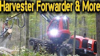 New Komatsu 911 Harvesters - Austrofoma 2015