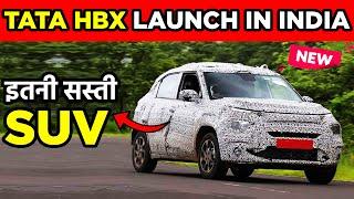 Tata HBX Launch | Tata Hornbill  | New Tata Car Launch | tata hbx 2021 | Price Size Engine Features