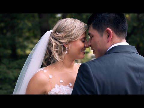Paige & Dennis Biltwell Center Wedding Trailer