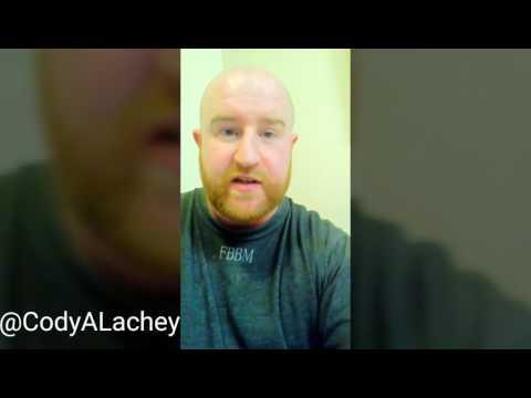 Cody Lachey on Preparing for Prison