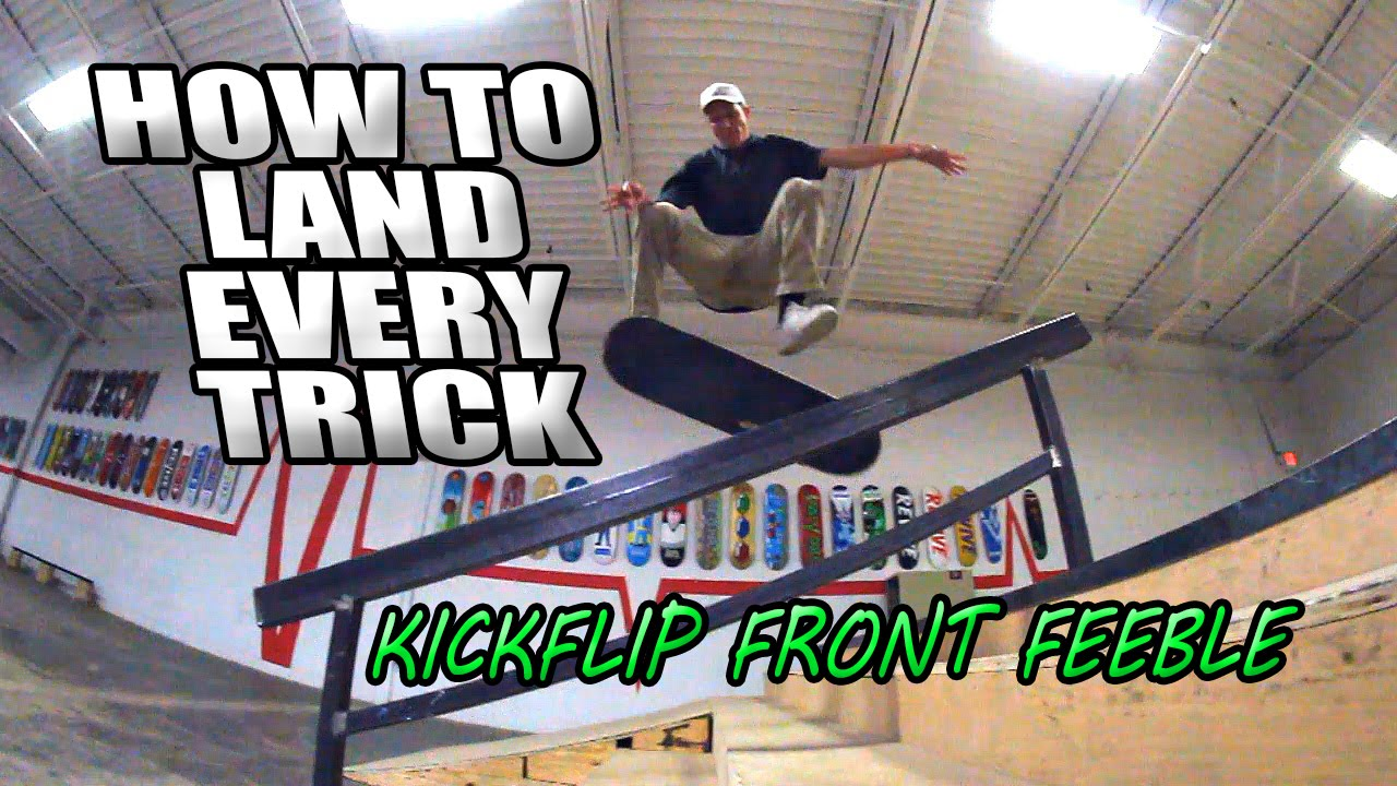 How to Land Simple Skateboard Tricks pics