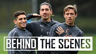 Behind the scenes at Arsenal training centre