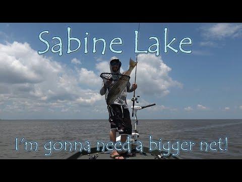 Sabine Lake Summer Fishing