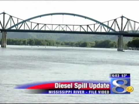 Cause of Mississippi River diesel spill unknown