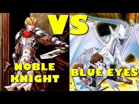Real Life Yugioh - NOBLE KNIGHT vs BLUE EYES | December 2017 Scrub League