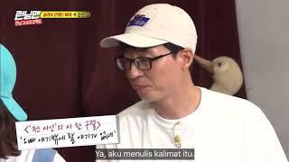Soran make a song for jeong somin poet!!! Runningman