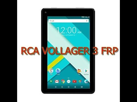 RCA VOLLAGER 3 FRP GOOGLE BYPASS