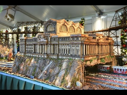 Train Show at the New York Botanical Garden - January 4, 2017