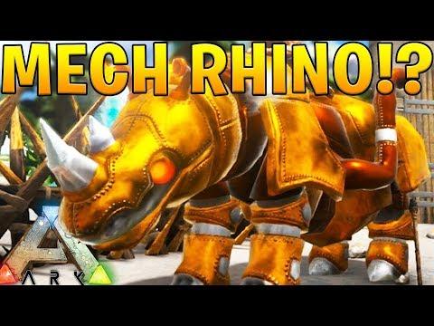 MECHANICAL RHINO ROBOT! - ARK SURVIVAL EVOLVED ABERRATION EXPANSION #20