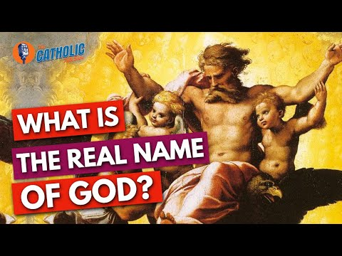 What Are The Real Names of God, Jesus, & The Apostles?   The Catholic Talk Show