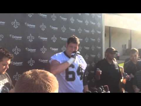 Zach Strief says tempo is important for Saints offense | Video