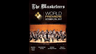 """The Musketeers"" (excerpt), by Óscar Navarro. Barcelona Clarinet Players."