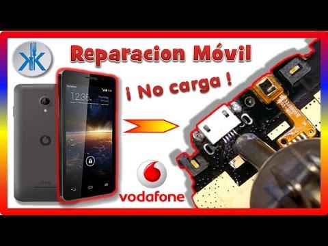 👍✔ Vodafone Smart Power 4 / LTE 4G ( Reparación conector de carga )