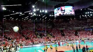 """Liga Światowa 2011: POLSKA - BRAZYLIA """"Zawsze tam gdzie ty"""" ver.2"""
