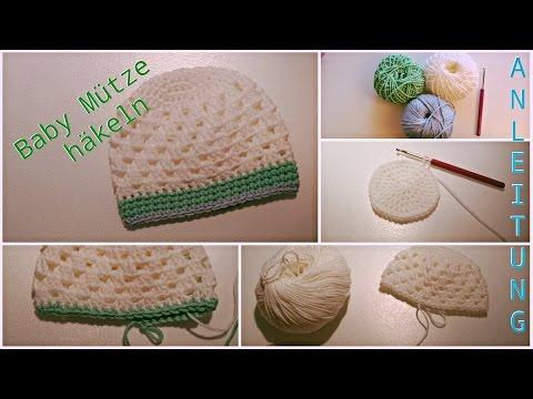 Baby Mütze Häkeln| Anleitung| Biggistubee