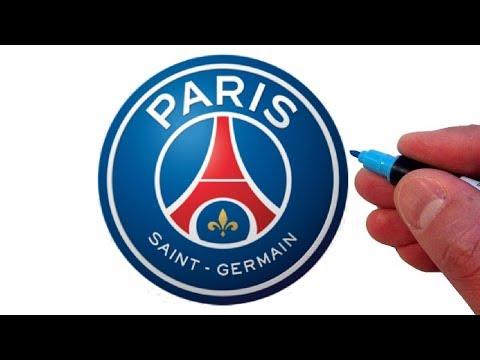 How To Draw The Paris Saint Germain F C Logo Youtube