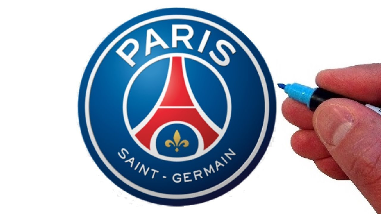 How To Draw The Paris Saint Germain F C Logo Youtube