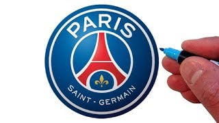 How to Draw the Paris Saint-Germain F.C. Logo