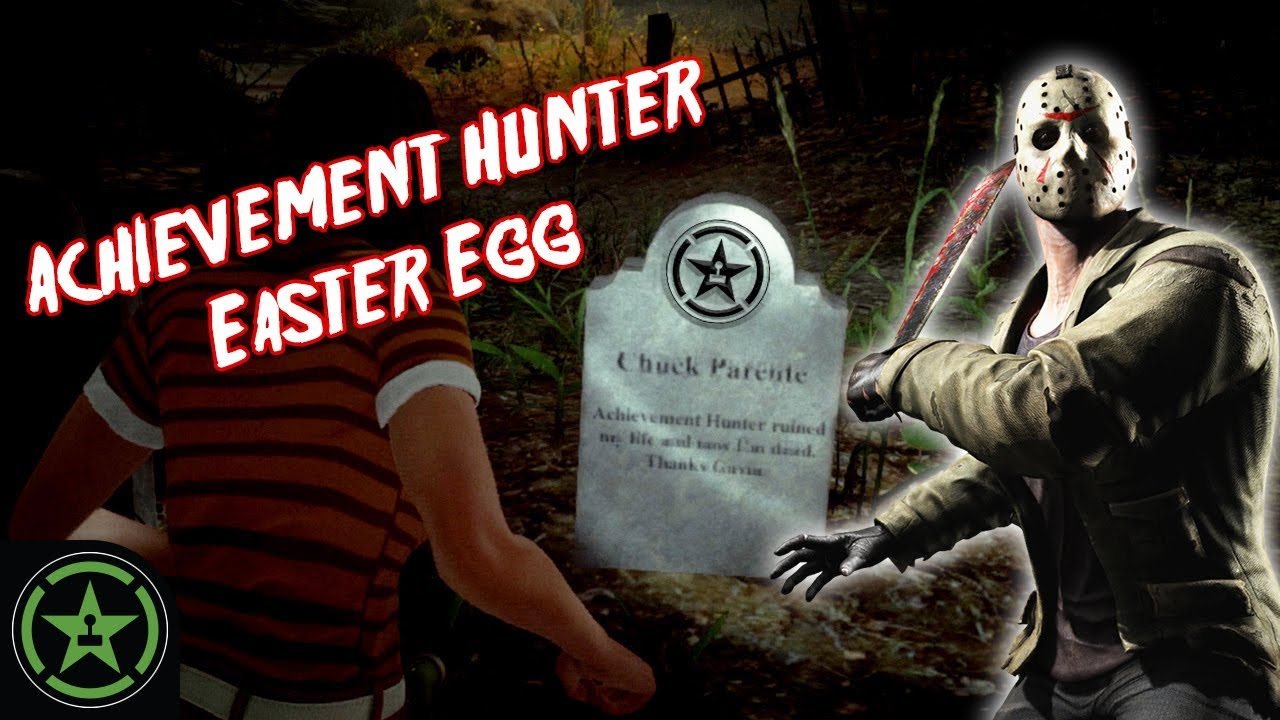 Easter Egg: Friday the 13th: The Game - Achievement Hunter