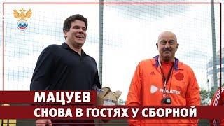 Мацуев снова в гостях у сборной l РФС ТВ