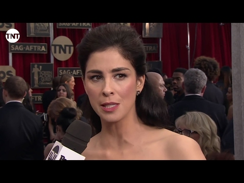 Sarah Silverman I SAG Awards Red Carpet 2016 I TNT