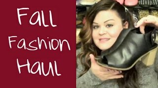 Plus Size Fall Fashion Haul: Wet Seal+ and More! Thumbnail
