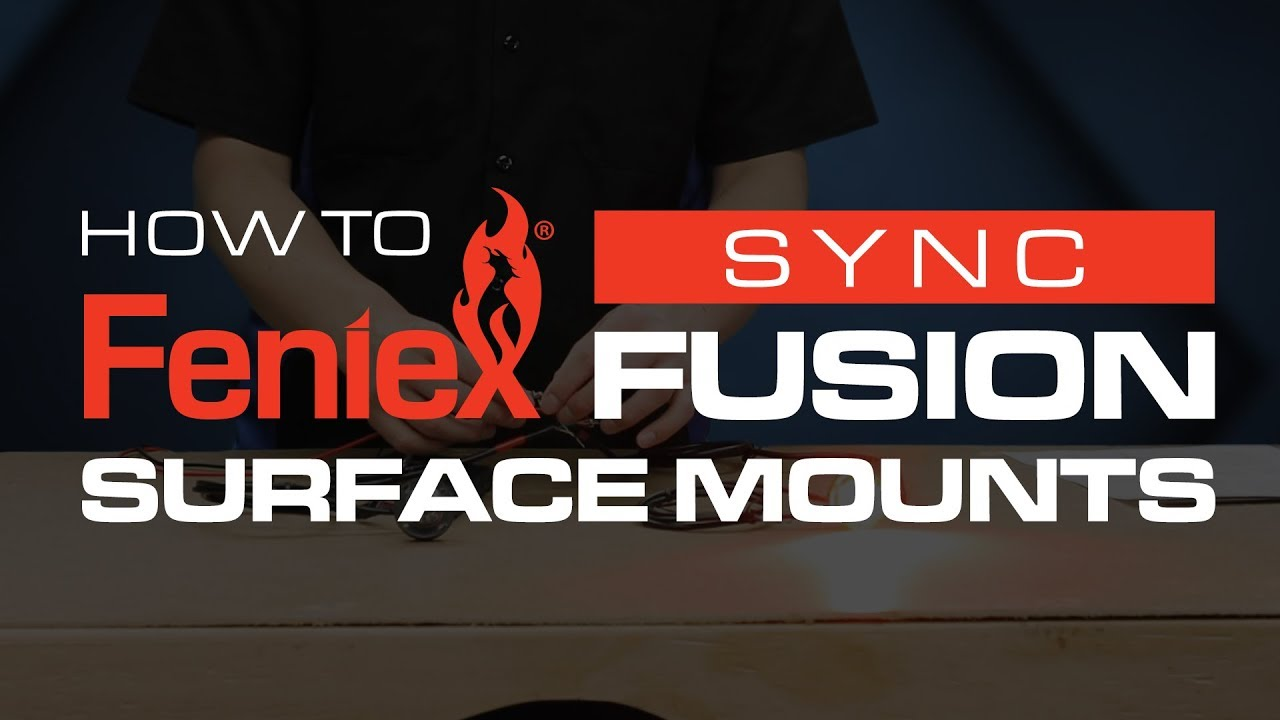 How To Sync Feniex Fusion Surface Mounts Youtube