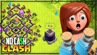 THIS is a FIRST! Clash of Clans No Cash Clash #22