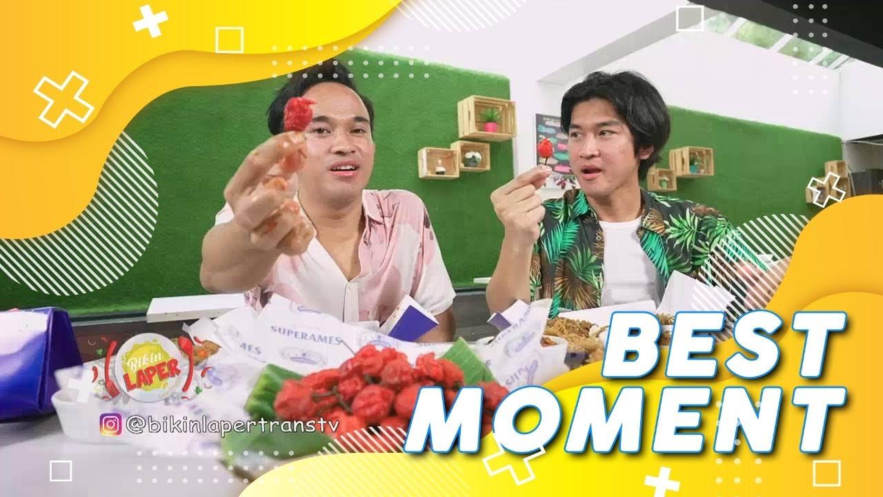 NASI RAMES Plus CABE CAROLINA Bikin ANREZ NANGIS! | Best Moment #BikinLaper (27/7/21)