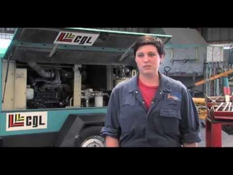 Compagnie Générale de Location (CGL) - Chloé mecanicienne SD